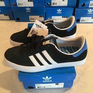 Adidas Skate Originals Mens 10 Black With Blue Hit